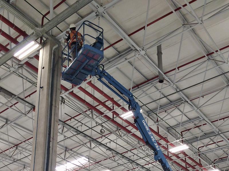 Imagem Eaton – Porto Feliz – Infraestrutura elétrica e pneumática para instalação de células industriais para montagem de componentes elétricos